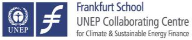 Frankfurt School UNEP-logo