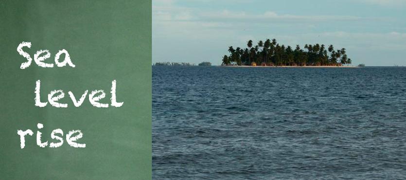 Südseeinsel - Montage © climateanalytics.org