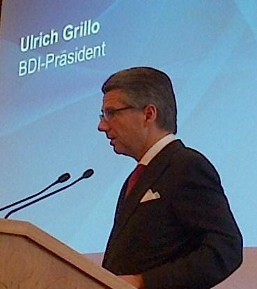 BDI-Präsident Ulrich Grillo 20130313 - Foto © Gerhard Hofmann, Agentur Zukunft