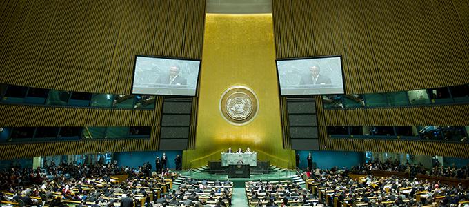 UN-VV Foto © UN