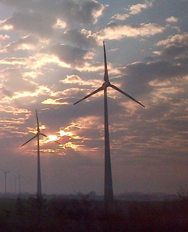 Windenergie in der Wustermark Foto © Gerhard Hofmann, Agentur Zukunft