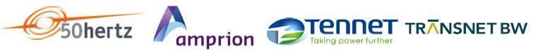 50Hertz_Amprion_Tennet_Transnet logos