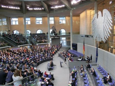 Bundestagsplenum - Foto © Gerhard Hofmann_Agentur Zukunft