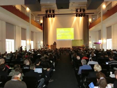 Audimax der Humboldt-Universität - Foto © Gerhard Hofmann_Agentur Zukunft