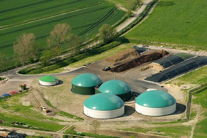Biogasanlage Nordsee-Luftbilder_DSCF8567 - Foto © Martina Nolte -Lizenz Creative Commons CC-by-sa-3.0 de