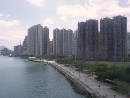 Hongkong bald unter Wasser? - Foto © Gerhard Hofmann_Agentur Zukunft