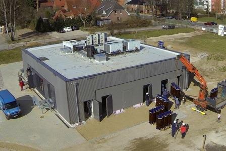 Batteriespeicher Schwerin-Lankow - Foto © wemag.com