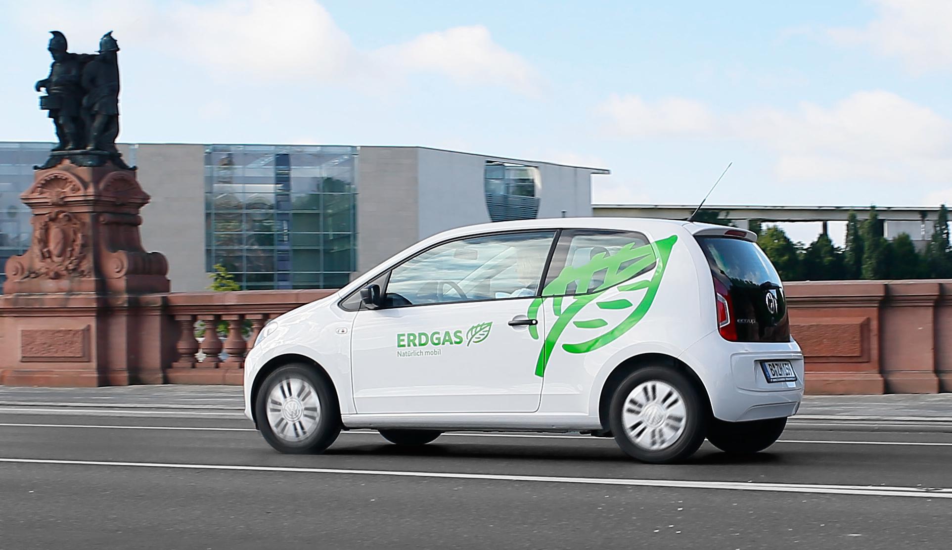 Erdgasfahrzeug -Foto © erdgasmobil