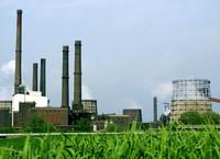 Das Kraftwerk der Salzgitter AG in Salzgitter profitiert vom Klimahandel.