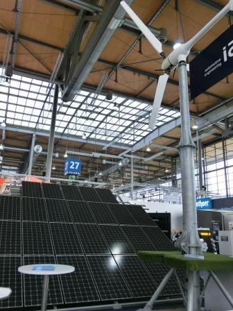 Wind und PV auf der Hannover Messe 20140407 - Foto © Gerhard Hofmann/Agentur Zukunft