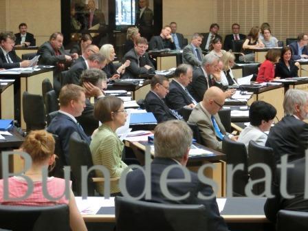 Bundesrat - Foto © Gerhard Hofmann Agentur Zukunft