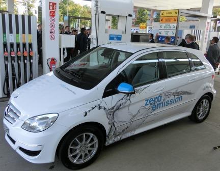 Daimler-Brennstoffzellen-Auto - Foto © Solarify