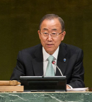 UN-Generalsekretär Ban-ki Moon - Foto © unmultimedia.org