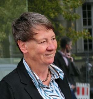 Bundesumweltministerin Barbara Hendricks. - Foto © Gerhard Hofmann, Agentur Zukunft für Solarify