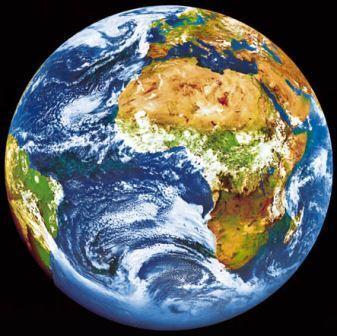 Erdkugel - Foto © NASA