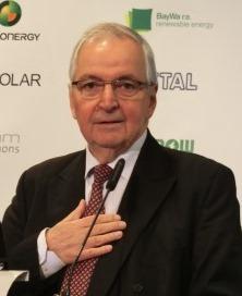 Klaus Töpfer - Keynote beim 15. Forum Solarpraxis - Foto © Gerhard Hofmann, Agentur Zukunft