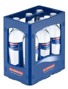 Mehrwegflaschen und Kiste © Bad Dürrheimer Mineralbrunnen