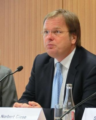 Norbert Giese, VDMA-Lenkungskreises Offshore-Windindustrie - Foto © Gerhard Hofmann, Agentur Zukunft