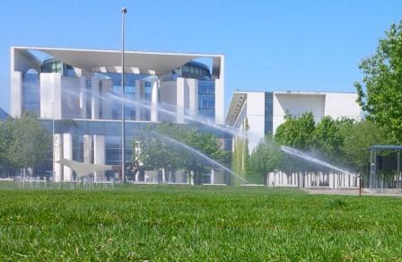 Bundeskanzleramt und Bewässerung - Foto © Gerhard Hofmann für Solarify