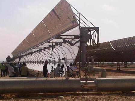 Hybridkraftwerk Kuraymat, Ägypten - Foto © Gerhard Hofmann, Agentur Zukunft 20111104