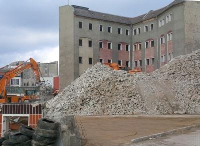 Baustelle in Berlin - Foto © Gerhard Hofmann, Agentur Zukunft_20150225
