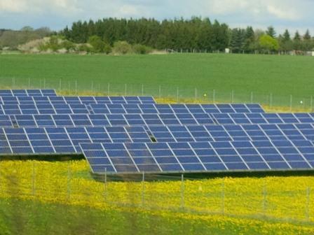 PV auf Bio bei Wittenburg-Hagenow, Mecklenburg Vorpommern - Foto © Gerhard Hofmann für Solarify