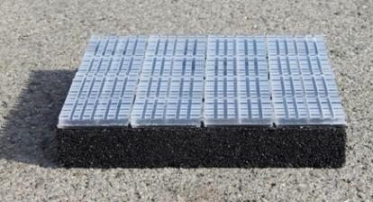 Solarelement als Straßenpflaster - Foto © Solmove