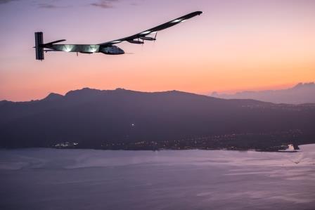 Solar Impulse landet auf Hawaii - Foto © solarimpulse.com