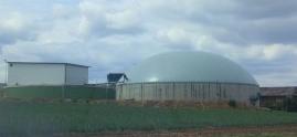 Biogasanlage bei Würzburg - Foto © Gerhard Hofmann, Agentur Zukunft_20150713