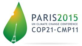 UN-Klimakonferenz 2015 in Paris - Logo COP21