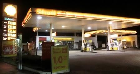 Tankstelle in Bochum - Foto © Agentur Zukunft für Solarify