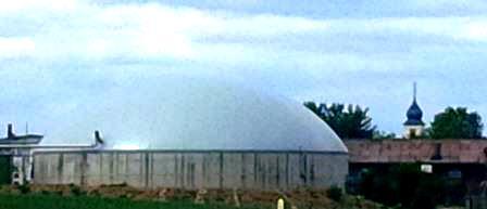 Biogasanlage in Oberpleichfeld bei Würzburg - Foto © Gerhard Hofmann, Agentur Zukunft_20150713