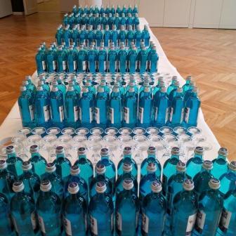 Mehrweg-Wasserflaschen - Foto © Gerhard Hofmann Agentur Zukunft, für Solarify