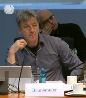 Klaus Brunsmeier (BUND), Endlagerkommission - Screenshot © Bundestagsfernsehen