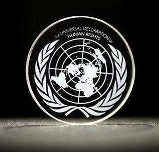 Allgemeine Erklärung der Menschenrechte als 5D-Kopie - Foto © southampton.ac.uk