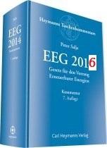 EEG 2016 Cover - © Carl Heymanns Verlag