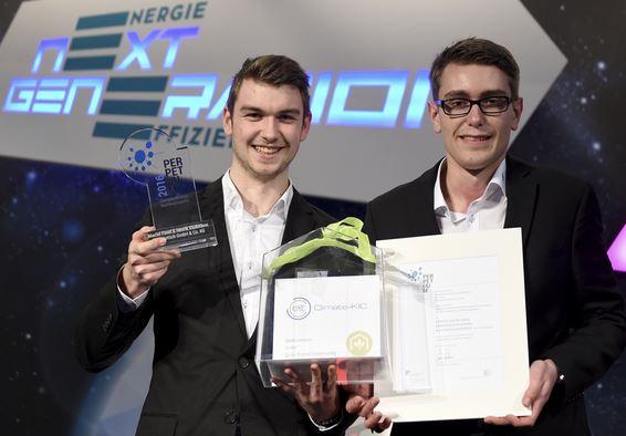Preisträger des Nachwuchspreises Marcel Pavel und Henrik Klußmann - Foto © deneff