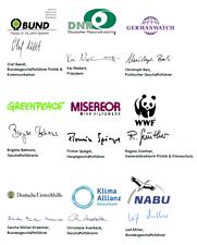 EU-Umweltschutz nach Paris stärken Logo-Sammlung © Germanwatch