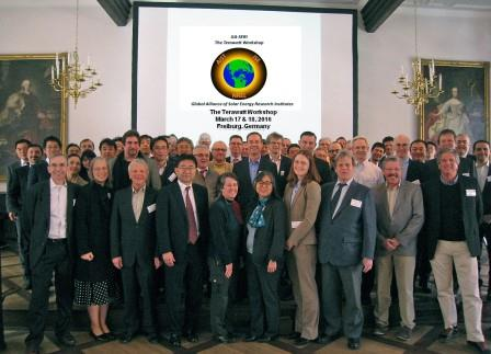 Erster Terawatt-Workshop 'Global Alliance for Solar Energy Research Institutes GA-SERI'- Foto © fraunhofer ise 160318