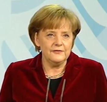 Merkel vor Bundestag am 09.06.2011 - Screenshot © bundesregierung.de