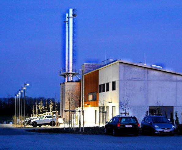 Unterföhringer Geothermiezentrale - Foto © geovol.de