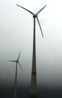 Windgeneratoren bei Göttingen - Foto © Gerhard Hofmann, Agentur Zukunft
