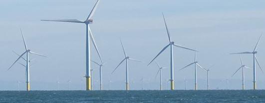 Windgeneratoren vor Schottland - Foto © ScottishPower