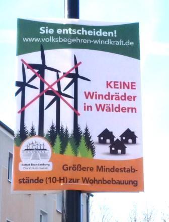 10H-Plakat in Dahme, Mark - Foto © Gerhard Hofmann, Agentur Zukunft, 20160402