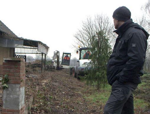 Abriss für Garzweiler - Lars Zimmer, letzter Einwohner von Immerath - Foto © Memento Films