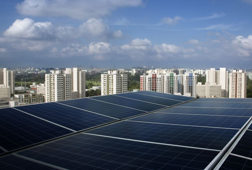 Apple-PV-Dach in Singapur - Foto © Apple