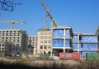 Baustelle in Berlin - Foto © Gerhard Hofmann, Agentur Zukunft 20140320