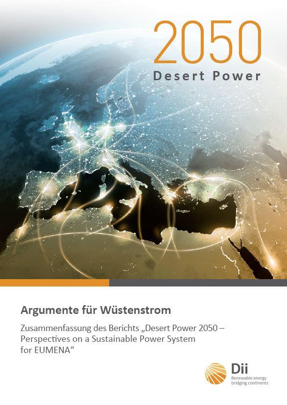 Dii Desert Power 2050 Zusammenfassung - Titel
