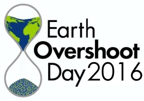 Earth Overshoot Day 2016 logo
