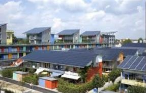 Solarsiedlung - Foto © Photovoltaikbüro